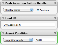 Fake - Mac OS X Web Browser Automation and Webapp Testing